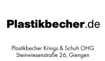 Plastikbecher Krings